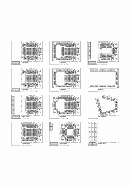 Beirut large theatre seating options