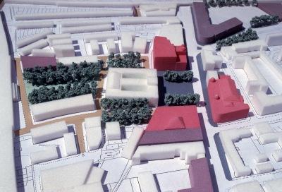 Town Hall Sq. master plan