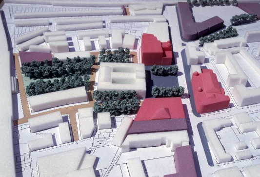 Town Hall Sq. master plan